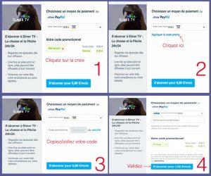 Step 1-4 - Abonnez vous