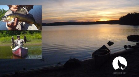 L'Appel de la Forêt – Pêche à la barbue et à l'achigan en canot camping
