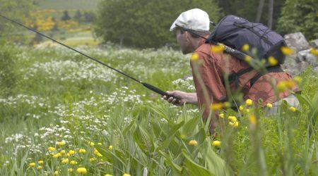 Pêche à la mouche Tenkara